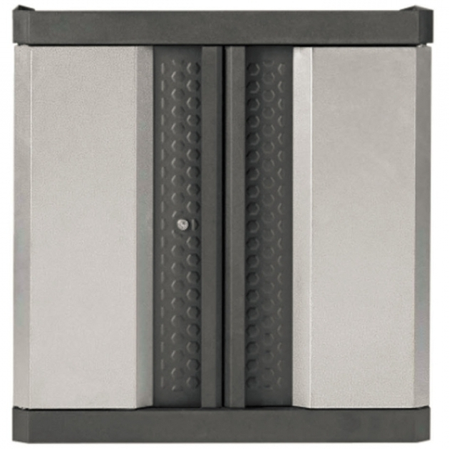 Alluring Shop Kobalt 30 In W X 30 In H X 14 In D Steel Wall Mount Garage Kobalt Storage Cabinet