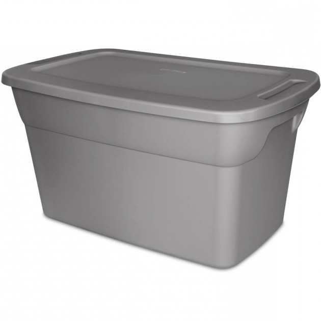 Alluring Sterilite 30 Gallon Tote Box Steel Available In Case Of 6 Or Sterilite Storage Bins