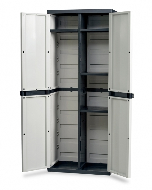Amazing 165cm Tall X 65cm Plastic Indoor Outdoor Garden Storage Cabinet Tall Outdoor Storage Cabinet