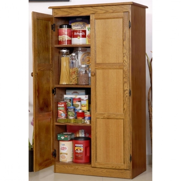 Wood Storage Cabinet With Shelves ~ Tall wood storage cabinets with doors designs