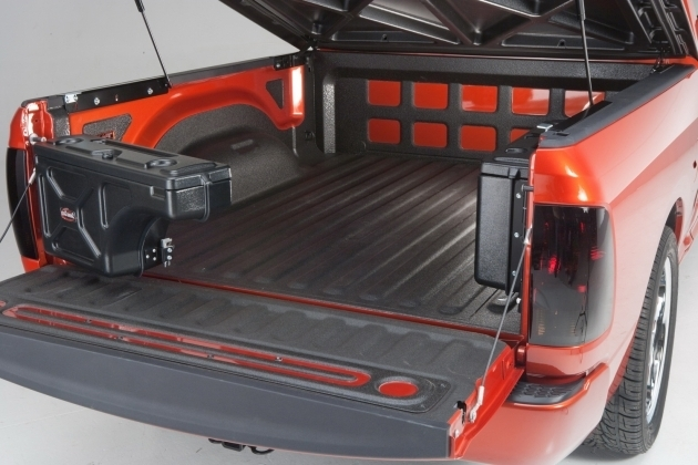 Amazing Undercover Tonneau Sc300p Swing Case Truck Bed Storage Box Truck Bed Storage Containers