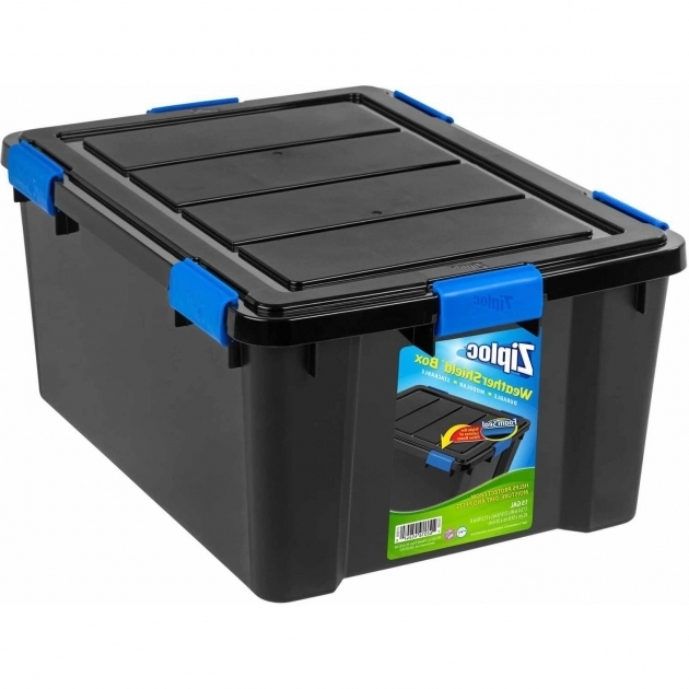 Amazing Ziploc Weathershield Storage Box Large Walmart Waterproof Storage Containers