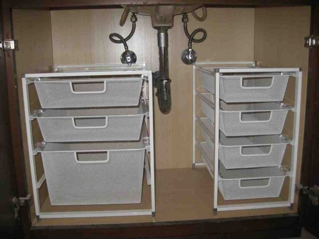 Awesome Bathroom Under Sink Storage Solutions Rukinet Under Cabinet Storage Solutions