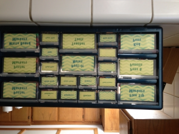 Awesome Pinterest Inspired Teacher Tool Box Made Me Alicia The 22 22 Drawer Storage Cabinet