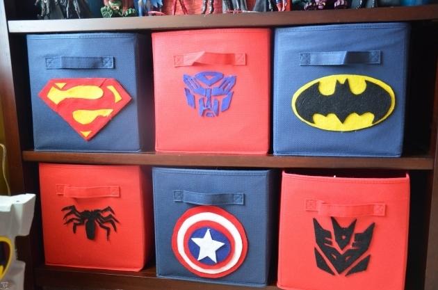 Awesome Showing Post Media For Boys Room Symbol Wwwsymbolsnet Superhero Storage Bins