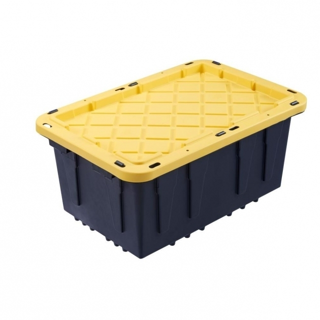 Awesome Storage Bins Totes Storage Organization The Home Depot Home Depot Storage Containers