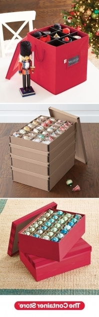 Best 17 Best Images About Organized Holiday On Pinterest The Ribbon Container Store Ornament Storage