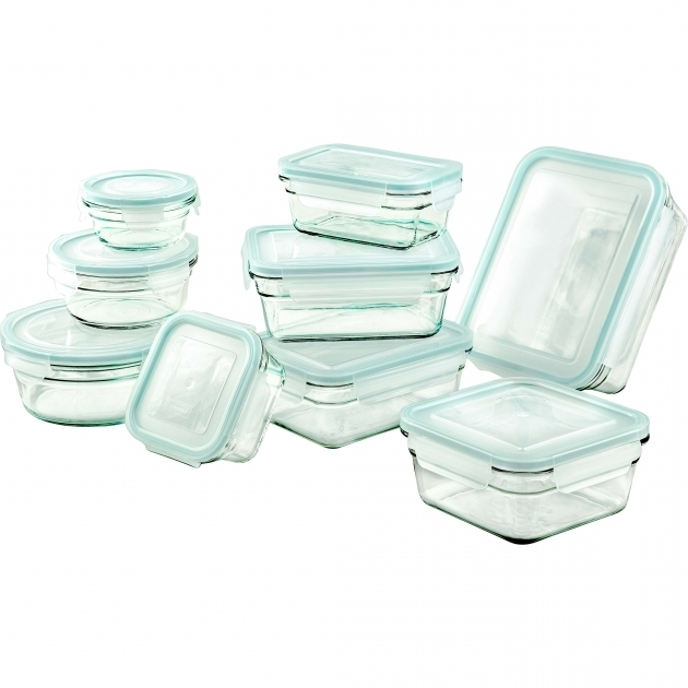Best Glasslock 18 Piece Glasslock Storage Container Set Reviews Wayfair Glasslock Food Storage Container Sets