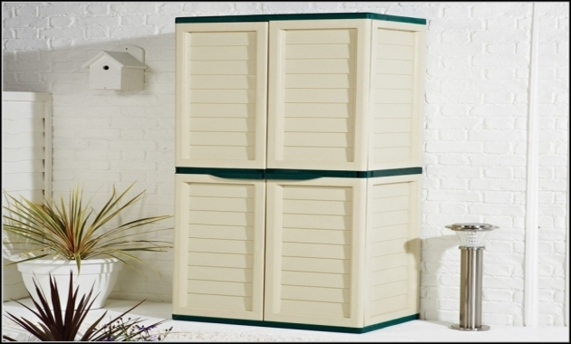 Fantastic Rubbermaid Outdoor Storage Cabinets Cabinet Home Decorating Rubbermaid Outdoor Storage Cabinets