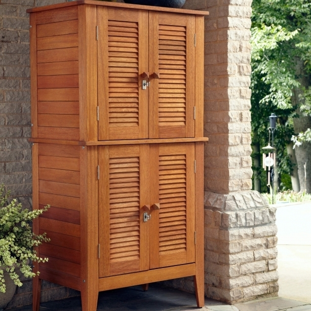 Outdoor Storage Cabinets With Doors Storage Designs