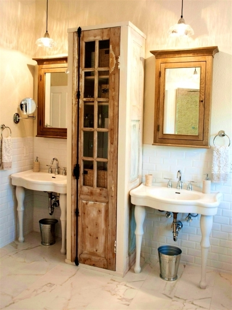 Fantastic Under Sinks Twins Wrap Around Pedestal Sink Storage With Classic Bathroom Pedestal Sink Storage Cabinet