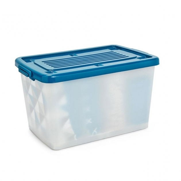 Fascinating 80l Storage Container On Wheels Kmart Kmart Plastic Storage Bins