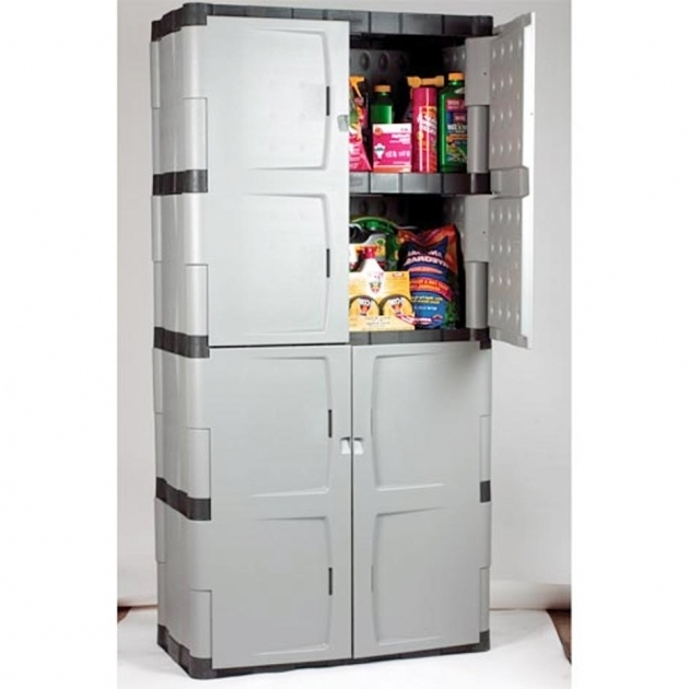 Fascinating Magnificent Storage Cabinets Rubbermaid Roselawnlutheran Plastic Storage Cabinets For Garage