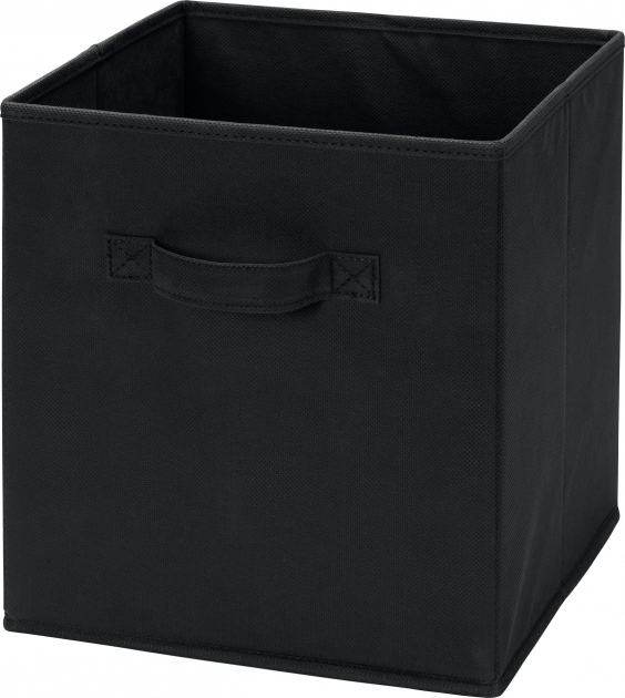 Gorgeous Ameriwood Furniture Systembuild Fabric Storage Bin Black White Fabric Storage Bins