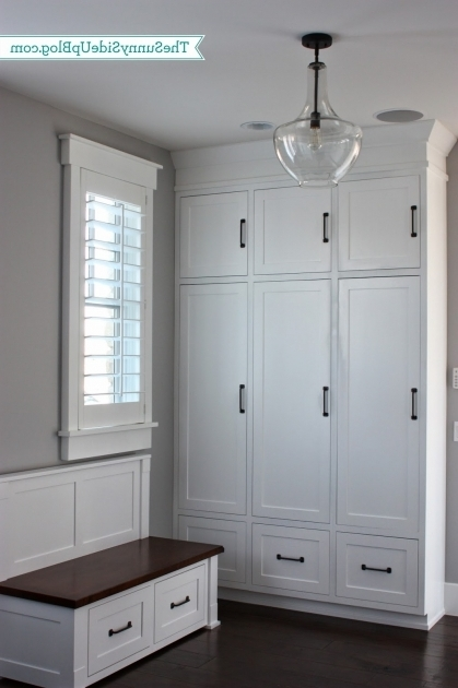 Gorgeous My New Organized Mudroom The Sunny Side Up Blog Mudroom Storage Cabinets