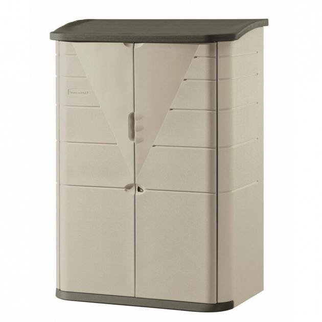 Gorgeous Rubbermaid 6 Ft 5 In X 4 Ft 7 In Large Vertical Storage Shed Rubbermaid Outdoor Storage Cabinets