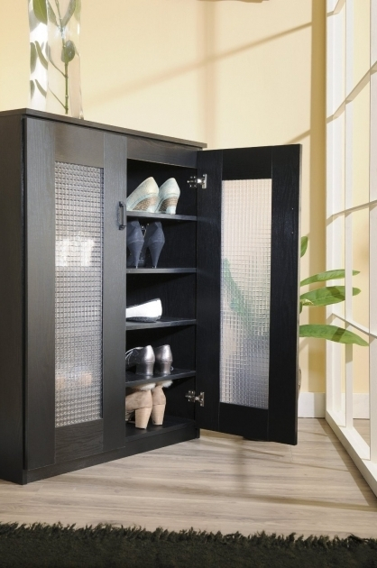 Gorgeous Shoe Storage Cabinet With Glass Doors Shoe Storage Cabinet Shoe Storage Cabinet With Doors