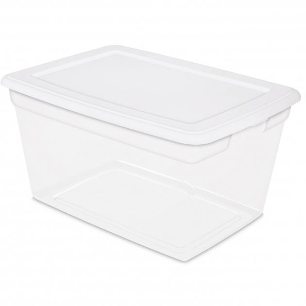 Gorgeous Sterilite 58 Quart Storage Box Walmart Sterilite Storage Bins
