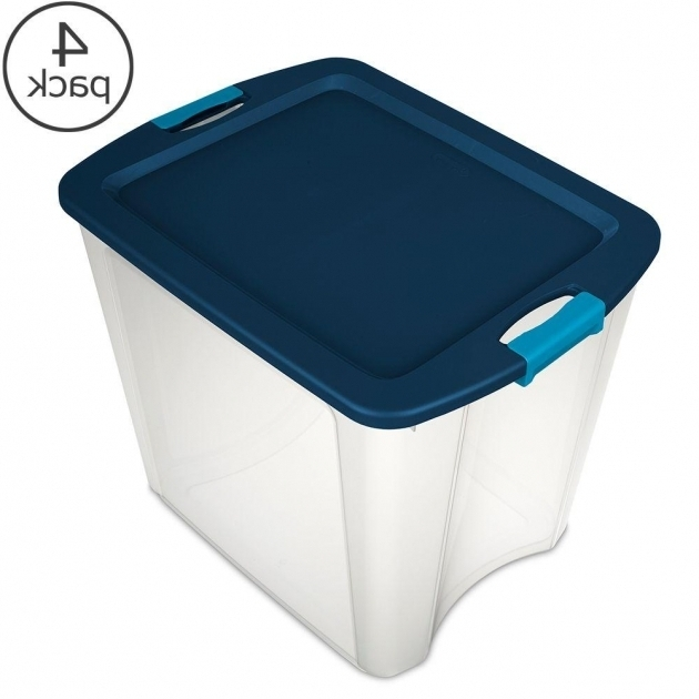 Image of Sterilite Storage Bins Totes Storage Organization The Sterilite Storage Bins