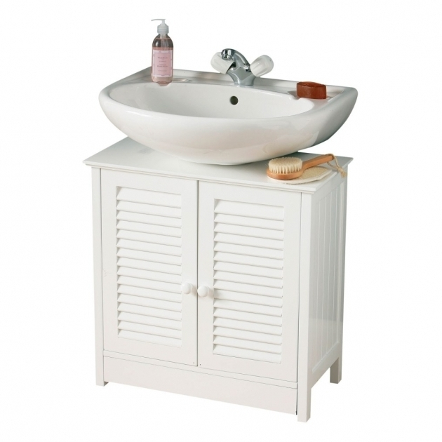 Bathroom pedestal sink storage cabinet storage designs - Mueble lavabo pedestal ...