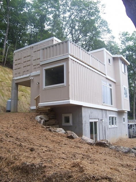 Incredible House Made From Cargo Shipping Containers On Home Container Design How Much Does A Storage Container Cost