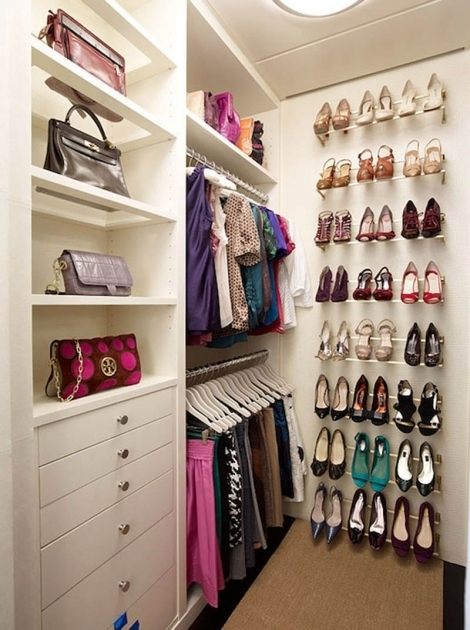 Incredible Luxury Dressing Room With White Wooden Shelves Drawers Closet And Container Store Shoe Storage