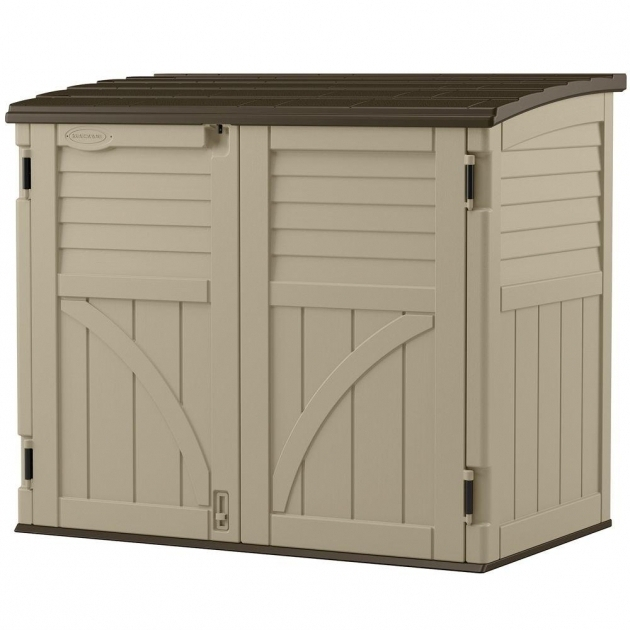 Tall Outdoor Storage Cabi on garden sheds lowes