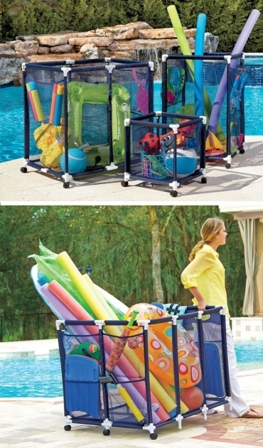 Inspiring 25 Best Ideas About Pool Toy Storage On Pinterest Pool Storage Pool Storage Bins