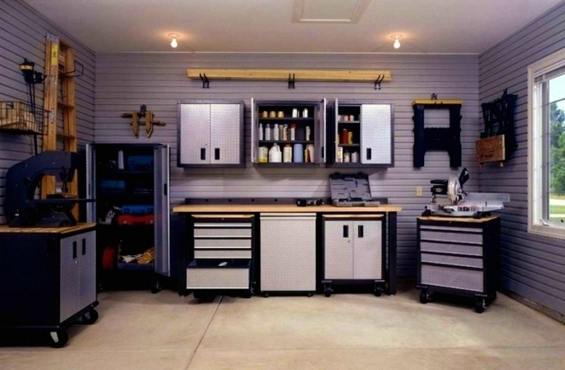 Inspiring Craftsman Resin Garage Storage System Youtube Throughout New Craftsman Storage Cabinets
