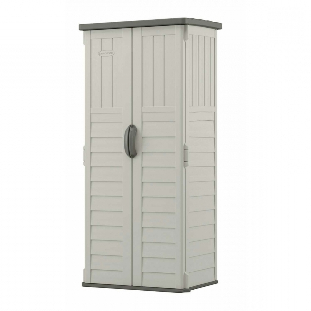 Inspiring Shop Small Outdoor Storage At Lowes Upright Storage Cabinet