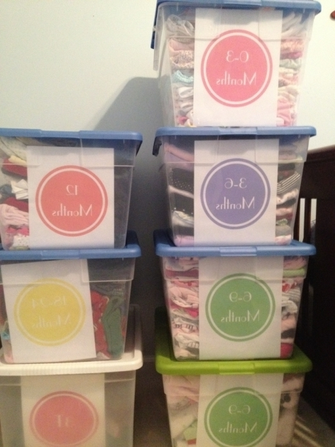 Marvelous Free Printables For Storage Bins Just Used All Of These For Clothing Storage Bins