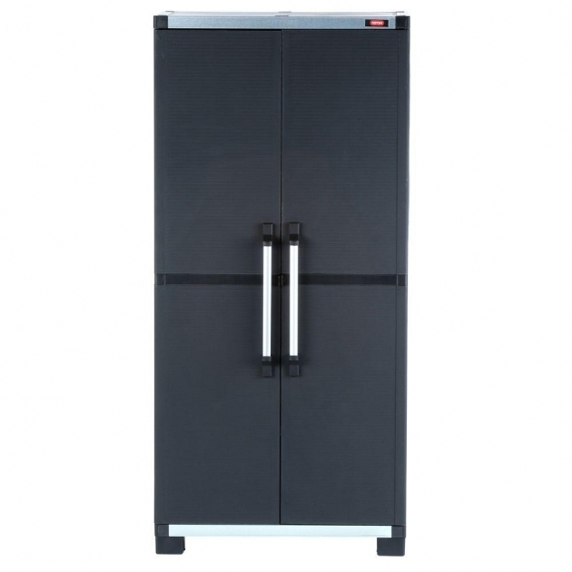 Marvelous Plastic Free Standing Cabinets Garage Cabinets Storage Plastic Storage Cabinets For Garage