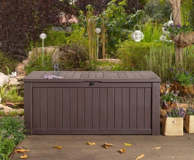 Outstanding Garden Storage Garden Storage Bench Youtube Outside Storage Bins