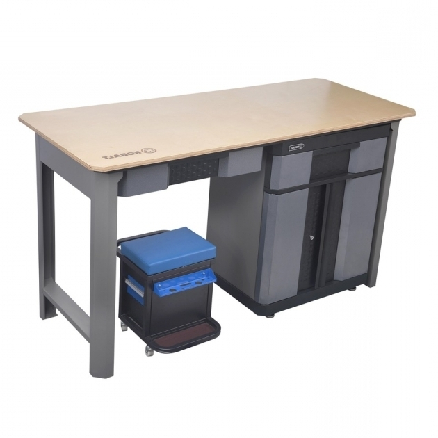 Outstanding Kobalt 72 In W X 39 In H Wood Work Bench 56185 Shops Products Kobalt Storage Cabinets