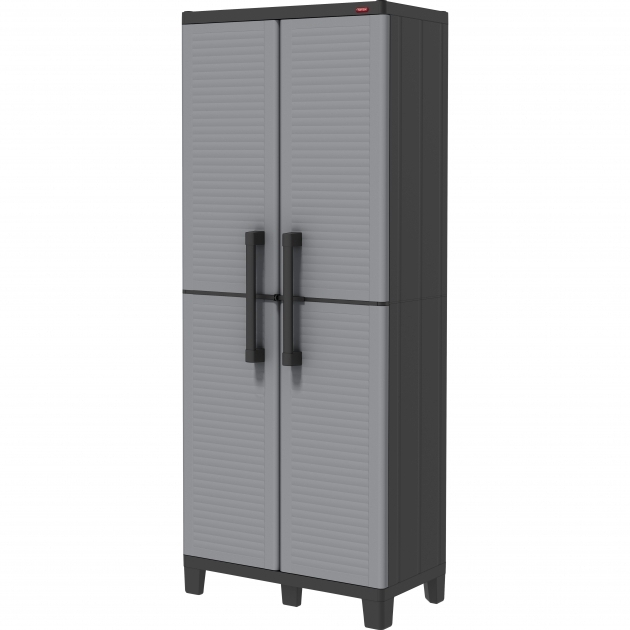 Picture of Garage Utility Cabinets Youll Love Wayfair Plastic Storage Cabinets For Garage