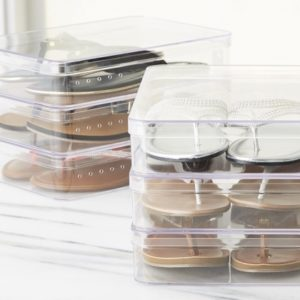 Container Store Shoe Storage