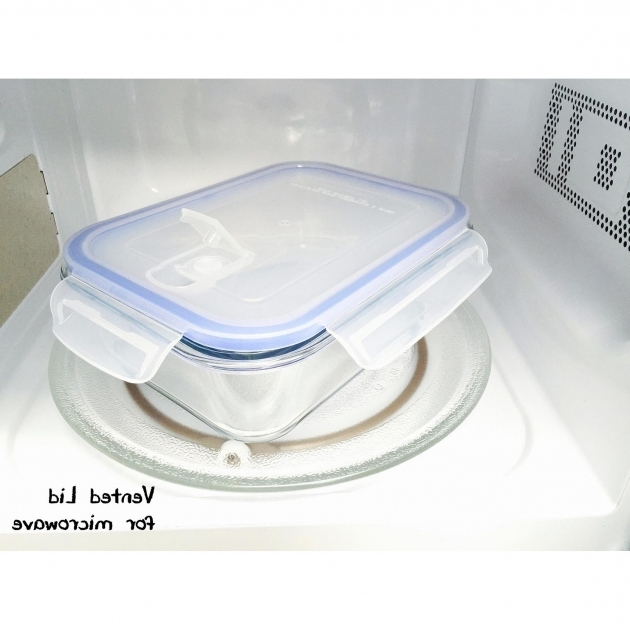 Picture of Kinetic Go Green Glasslock Elements 12 Oz Rectangular Oven Safe Glasslock Food Storage Container Sets