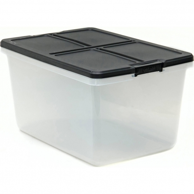 Picture of Large Storage Bins Walmart Com Hefty 66qt Latched Box Capacity Hefty Storage Bins