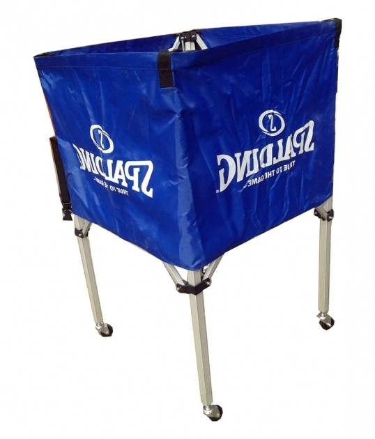 Picture of Spalding Ball Storage Bin With Wheels And Case Buy Online At Ball Storage Bin