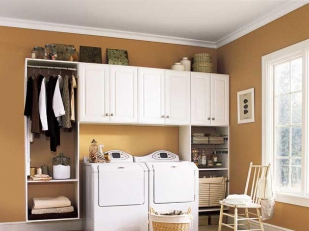 Remarkable 10 Clever Storage Ideas For Your Tiny Laundry Room Hgtvs Storage Cabinets For Laundry Room