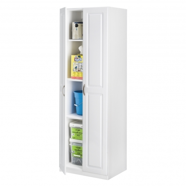 Remarkable Closetmaid Dimensions 7173 H X 2402 W X 1812 D 2 Door Upright Storage Cabinet