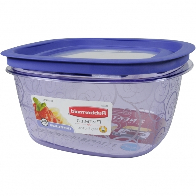 Remarkable Rubbermaid Premier 14 Cup Square Purple Walmart Rubbermaid Premier Food Storage Containers