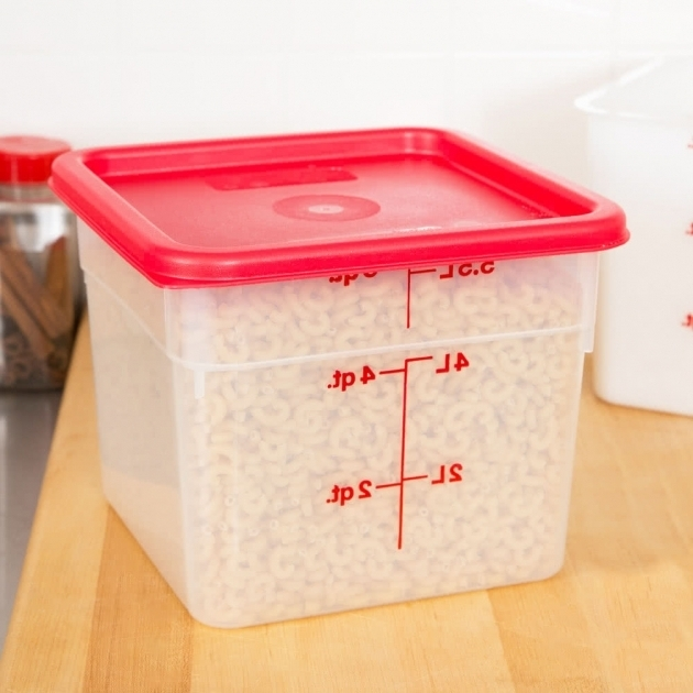 Stunning Cambro 6sfspp190 6 Qt Translucent Square Food Storage Container Onion Storage Container