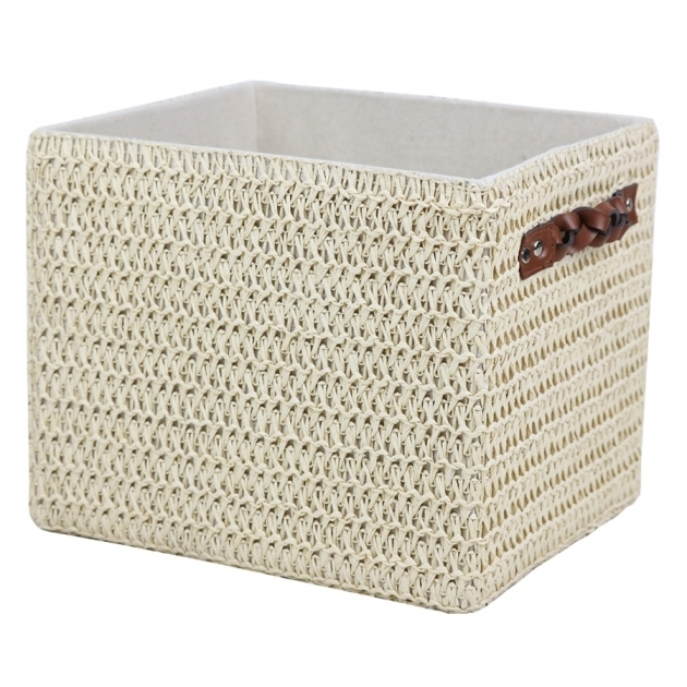 Stunning Shop Storage Bins Baskets At Lowes 13X13x13 Storage Bins