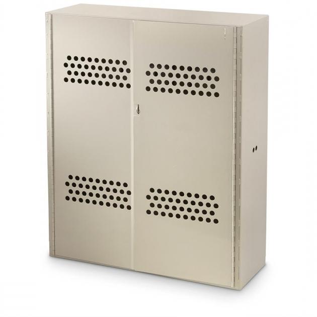 Stunning Us Military Surplus Metal Gun Cabinet Used 658553 Storage Used Metal Storage Cabinet