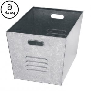 Galvanized Metal Storage Bins