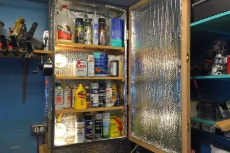 Heated Storage Cabinet