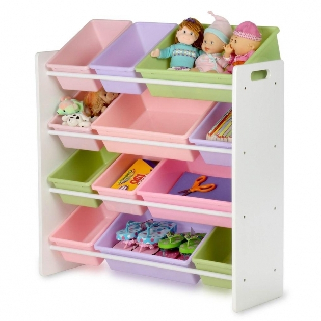 Stylish Honey Can Do Kids Storage Organizer With 12 Bins In Natural Srt Kids Storage Shelves With Bins