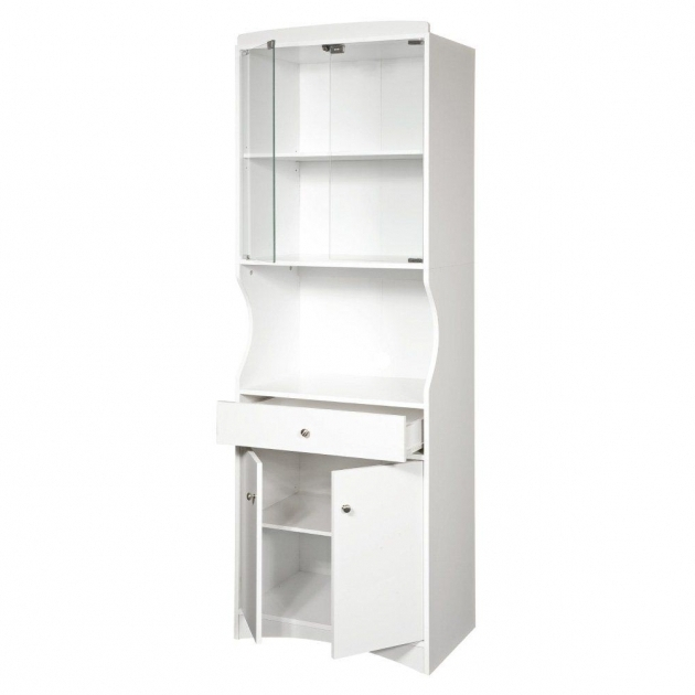 Stylish Kitchen Storage Carts Cabinets Microwave Cabinet With Storage