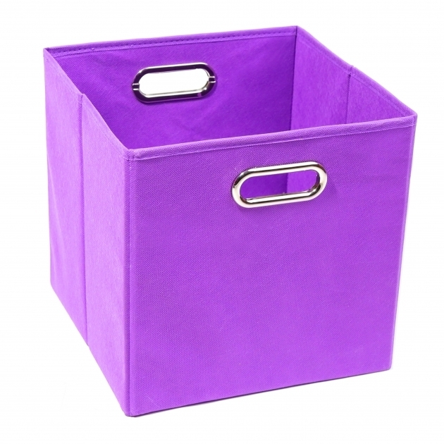 Stylish Modern Littles Color Pop Folding Storage Bin Reviews Wayfair Purple Storage Bins